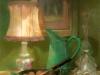Stilleven met lampje